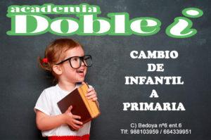 cambio infantil primaria